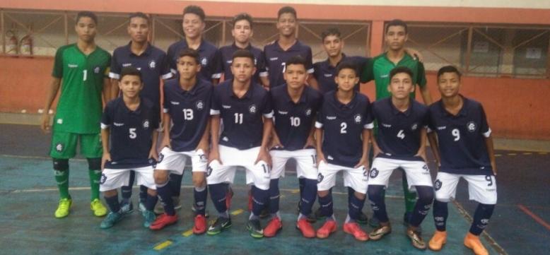 83e75699e8 Pelo Parazão de Futsal